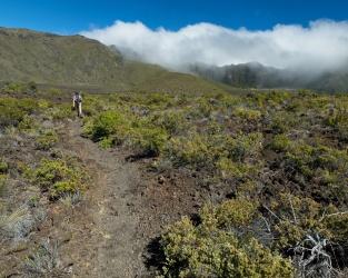 haleakala valley hiking