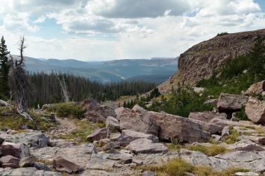 uinta mountain vista