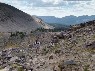 uinta mountains rocky climb