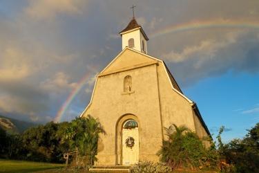 road to hana rainbow church